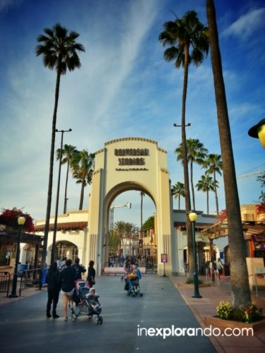 Entrada a Universal Studios Hollywood