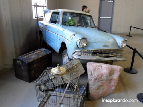 Coche de Harry Potter