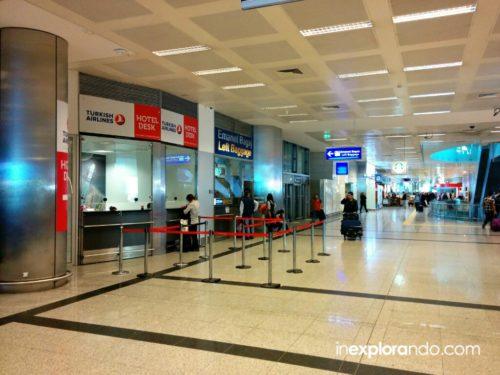 Hotel Desk en el aeropuerto