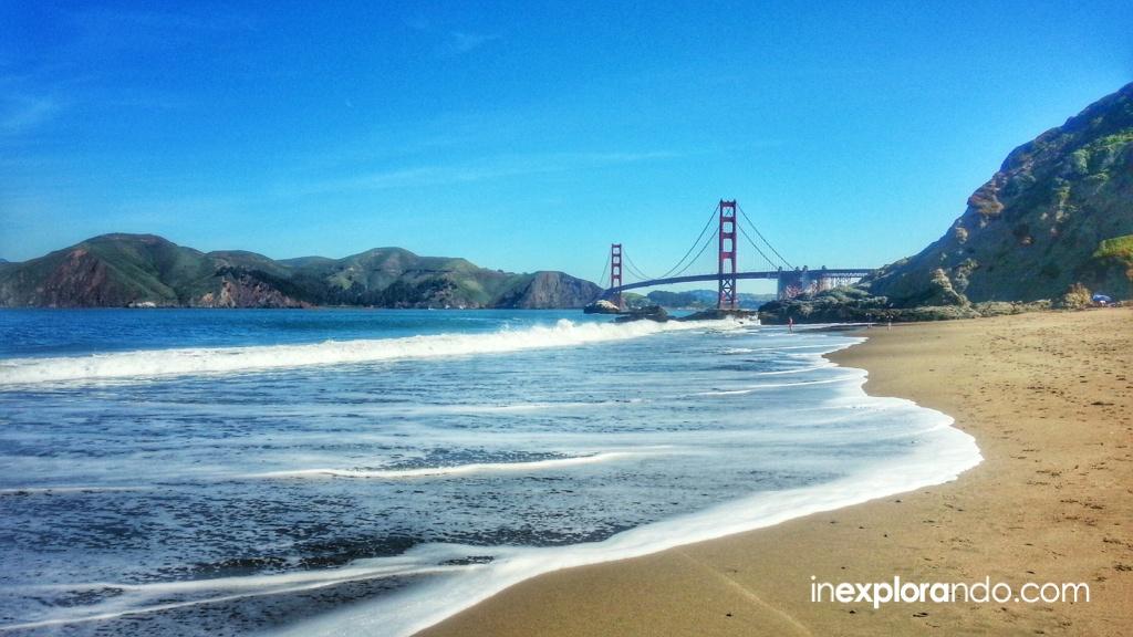 Puente Golden Gate y Baker Beach