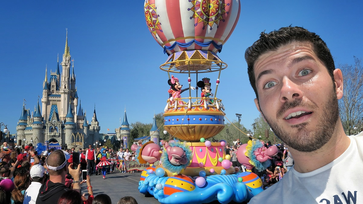 Video Magic Kingdom Walt Disney World Parte 2