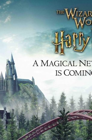 Primer anuncio de la nueva montaña rusa de Harry Potter