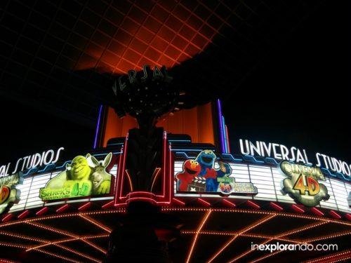 Shrek's 4-D Adventure y Sesame Street 4-D Adventure