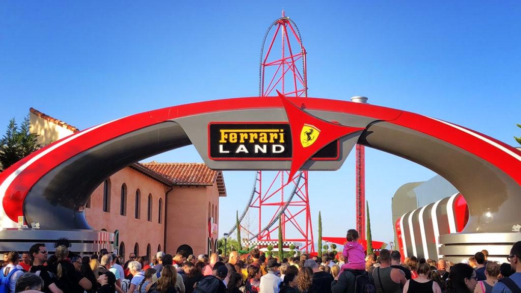 Ferrariland y la montaña rusa más alta de Europa