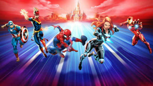 Shanghai Disney Resort Marvel