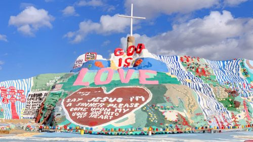 Salvation Mountain - Slab City California