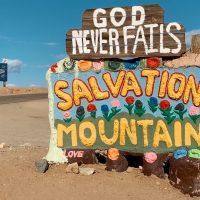 Slab City - Salvation Mountain